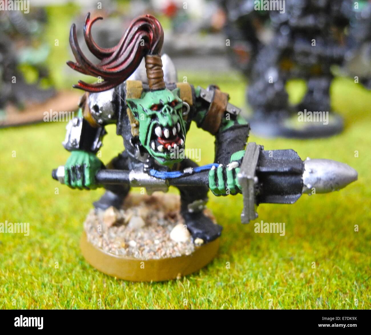 Warhammer è un wargame da tavolo in cui due o più giocatori