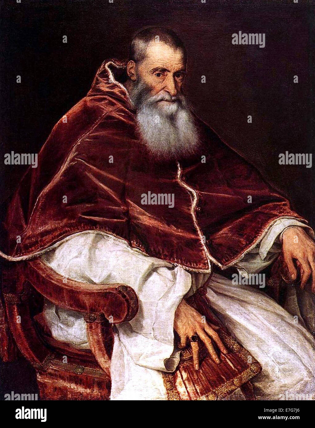 Papa Paolo III Immagini Stock