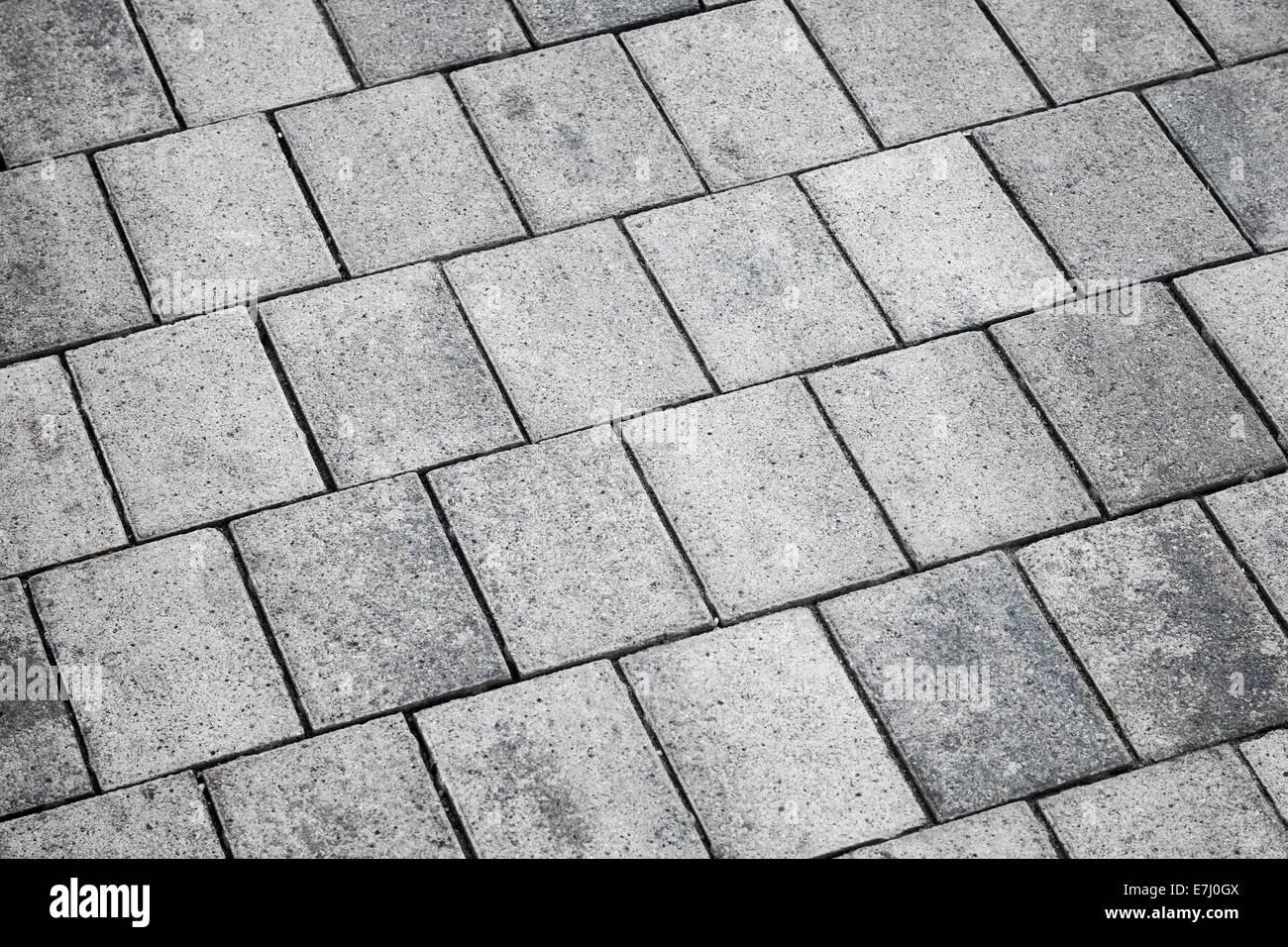Grigio piastrelle di calcestruzzo pavimentazione urbana texture di