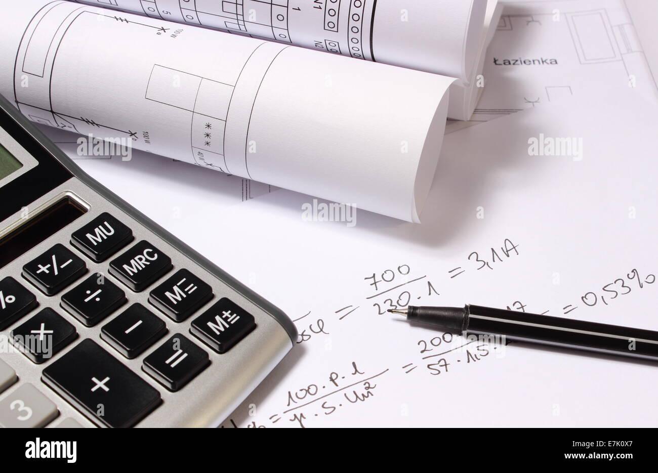 Schemi Elettrici : Laminati schemi elettrici calcolatrice e calcoli matematici per