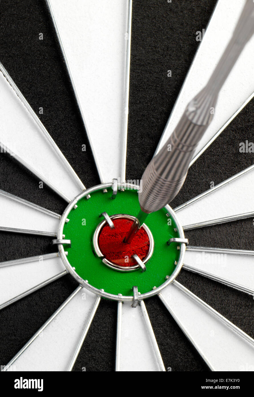 Dartboard isolato Immagini Stock
