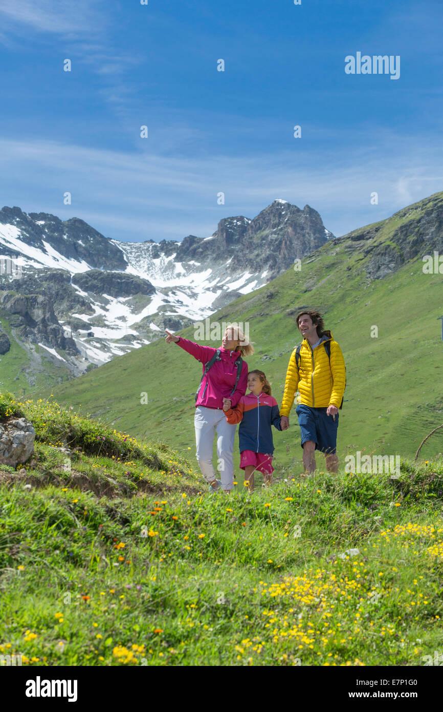 Engadina Engadina, famiglia, fiaba, Saint Moritz, St Moritz, Canton, GR, Grigioni, Grigioni, alta Engadina, famiglia, Immagini Stock