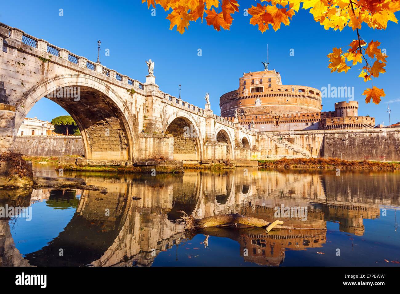 Sant'Angelo, Roma Immagini Stock