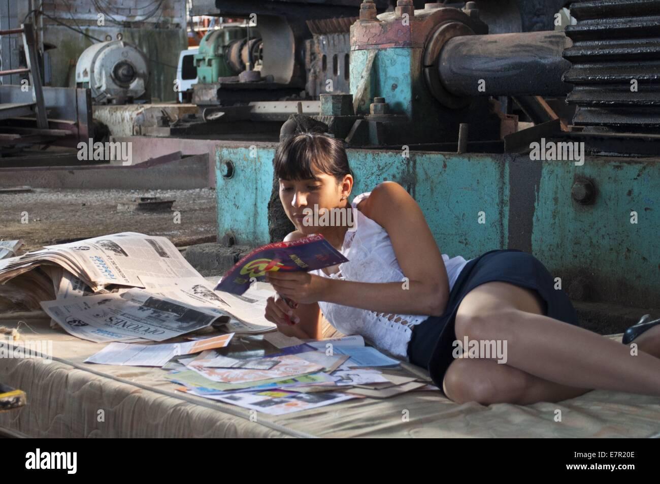 Melaza Anno : 2012 Cuba Direttore : Carlos Lechuga Yuliet Cruz Immagini Stock