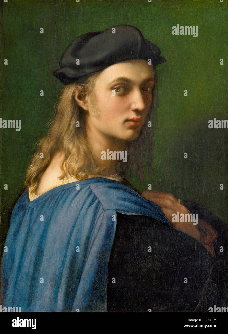 Raphael (italiano, 1483 - 1520 ), Bindo Altoviti, c. 1515, olio su pannello Immagini Stock