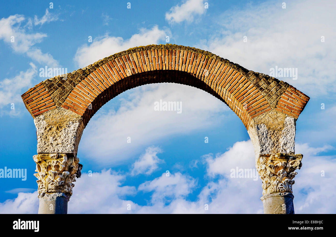 Il cielo la porta della Reliquia Pomepii Immagini Stock