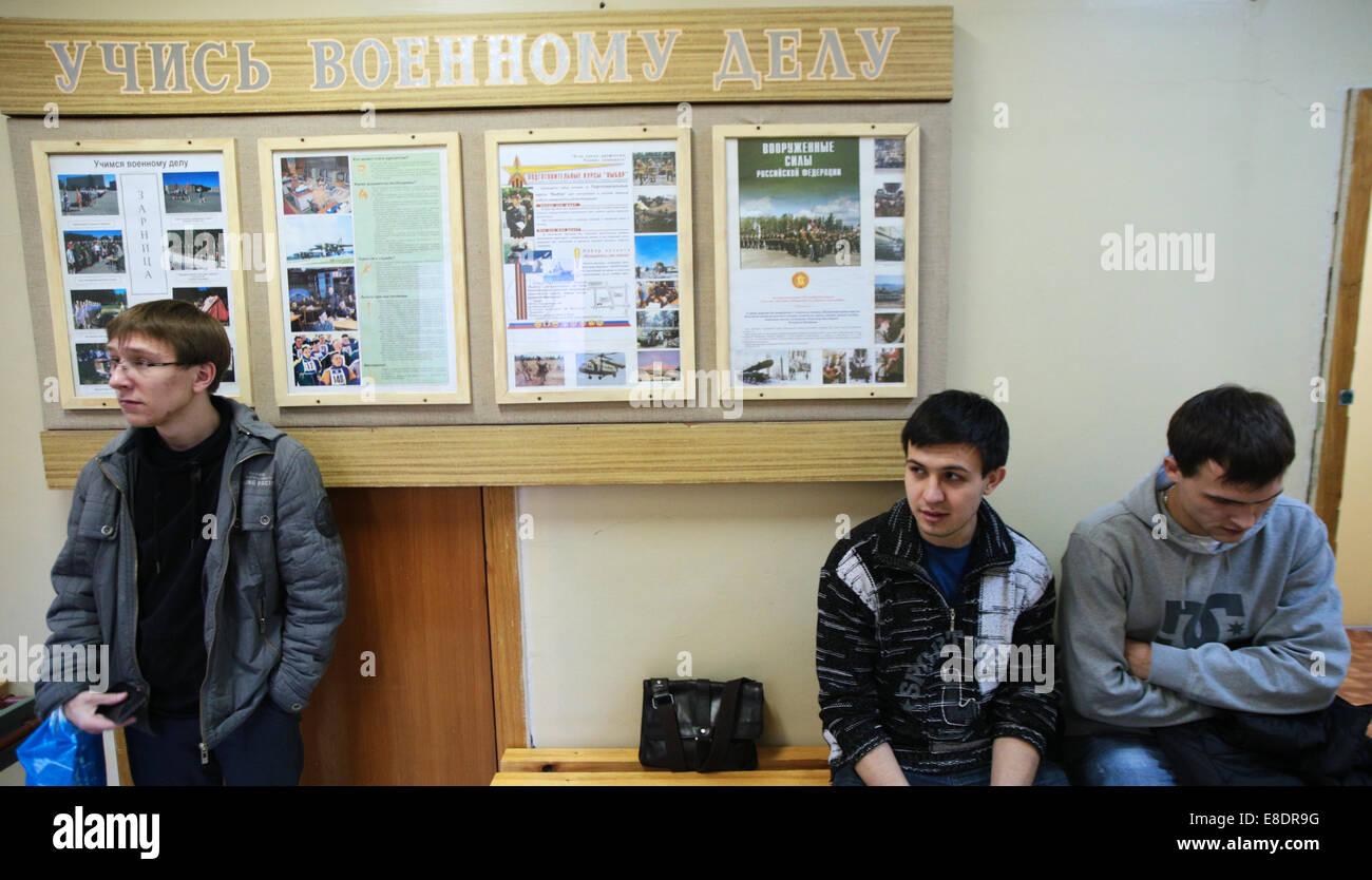 Ufficio Di Leva : Novosibirsk russia il ottobre i militari di leva in
