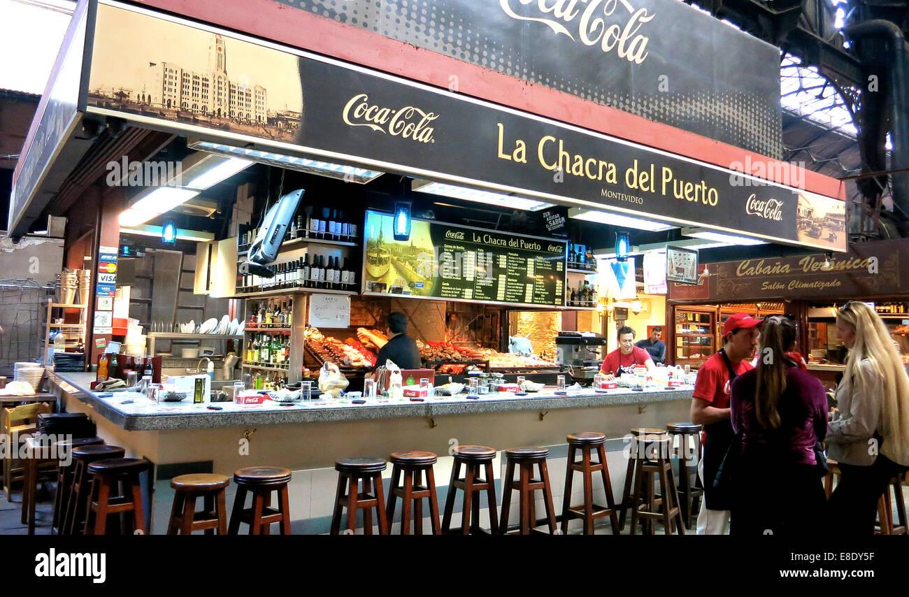 La Chacra del Puerto ristorante Montevideo Uruguay Immagini Stock