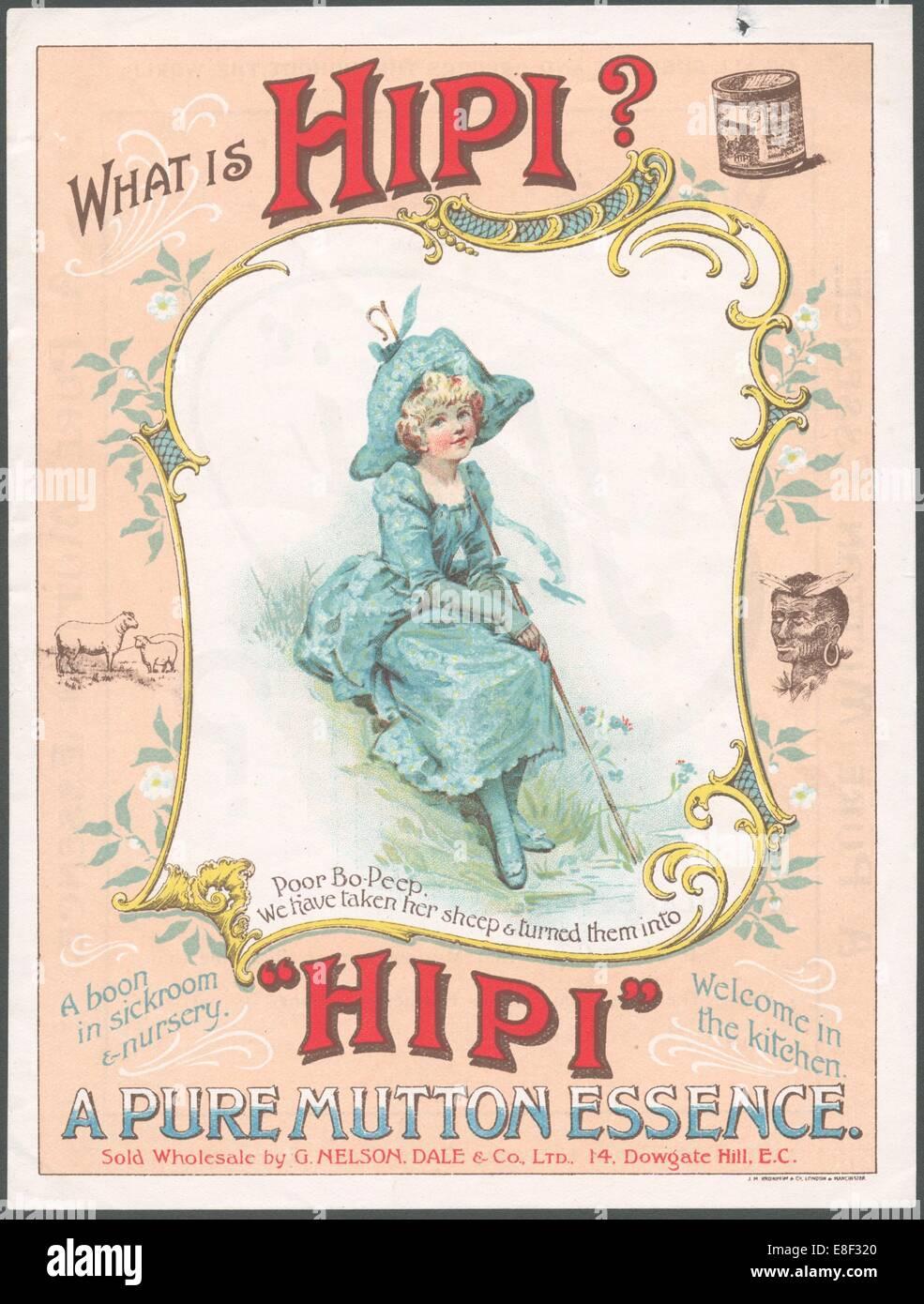 Hipi Essenza di montone, 1880. Immagini Stock