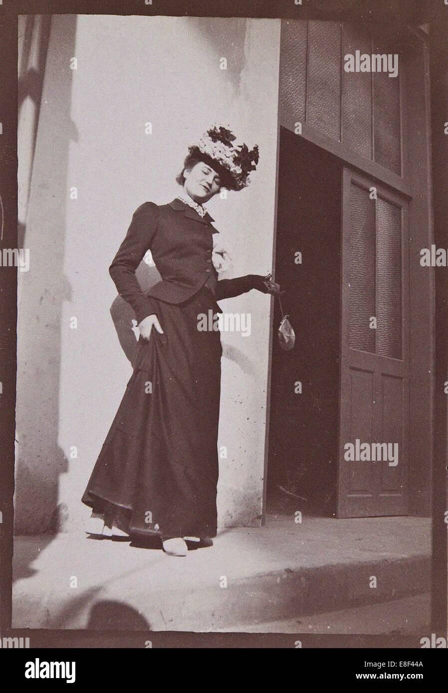 Misia Natanson in Cannes Artista: Vuillard, Édouard (1868-1940) Immagini Stock