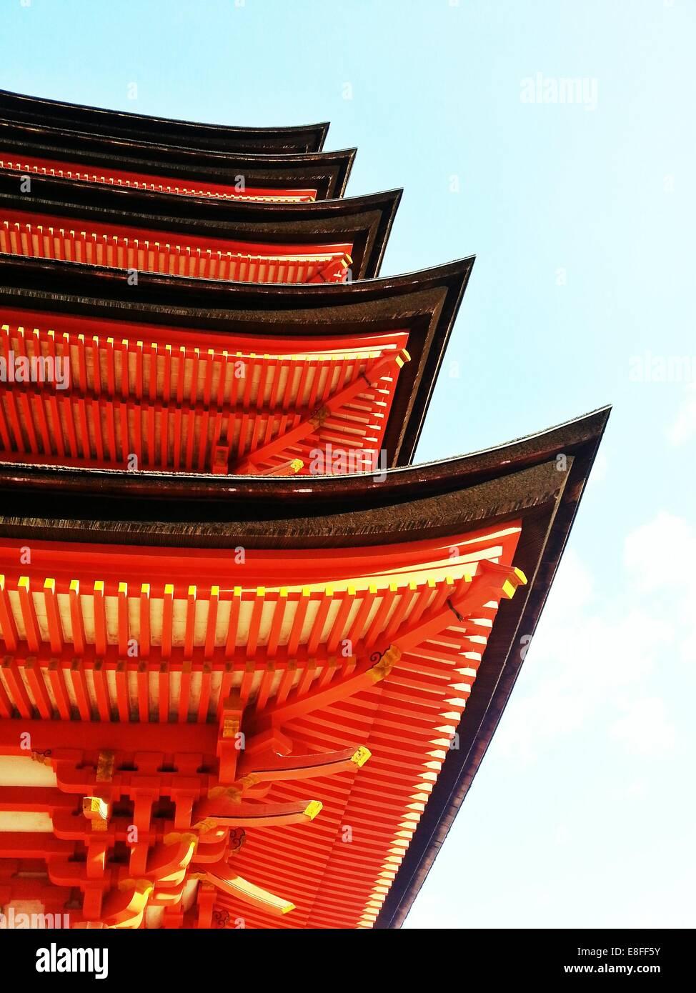Pagoda asiatica Immagini Stock
