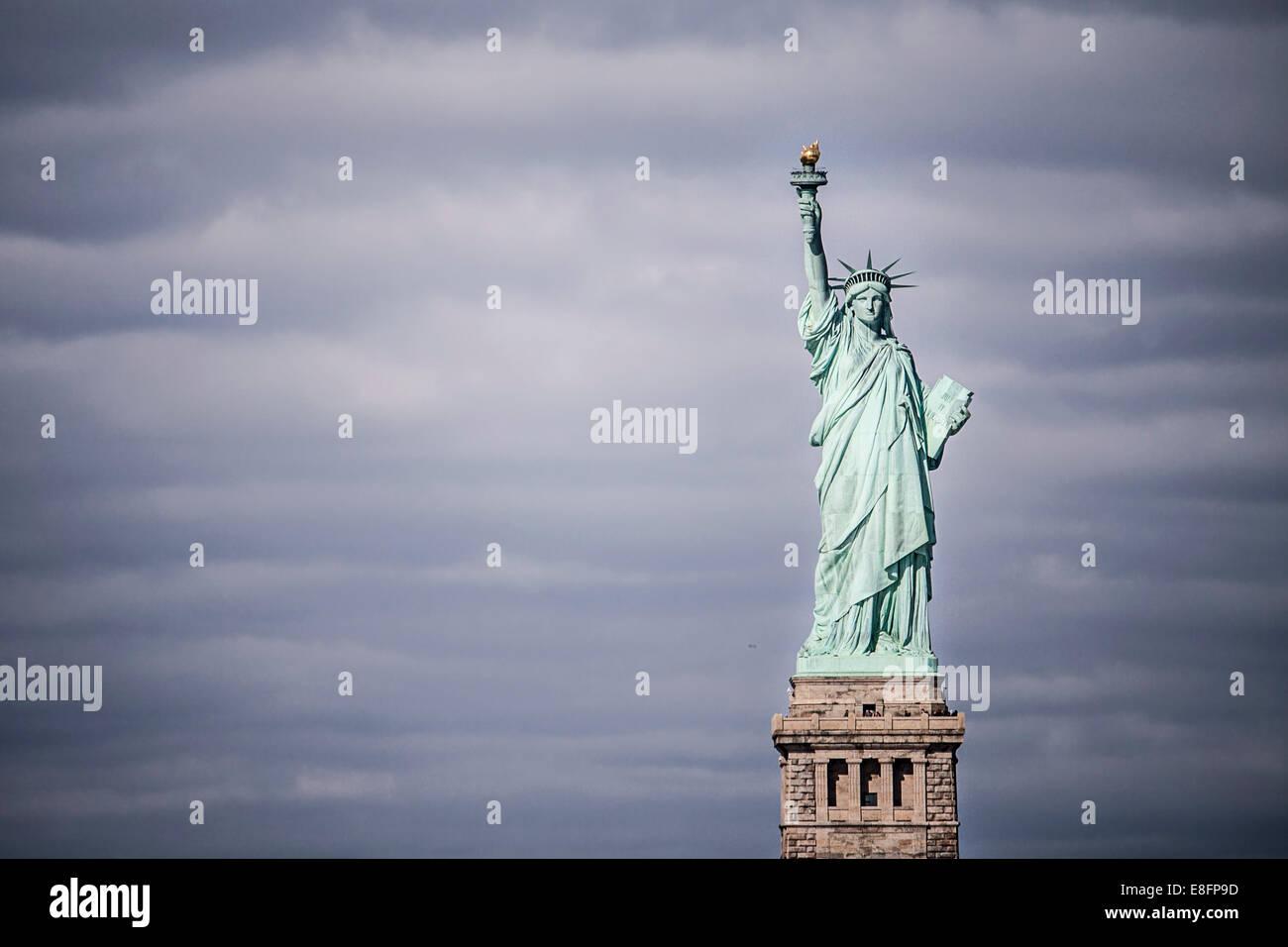 Statua della Libertà di New York, America, STATI UNITI D'AMERICA Immagini Stock