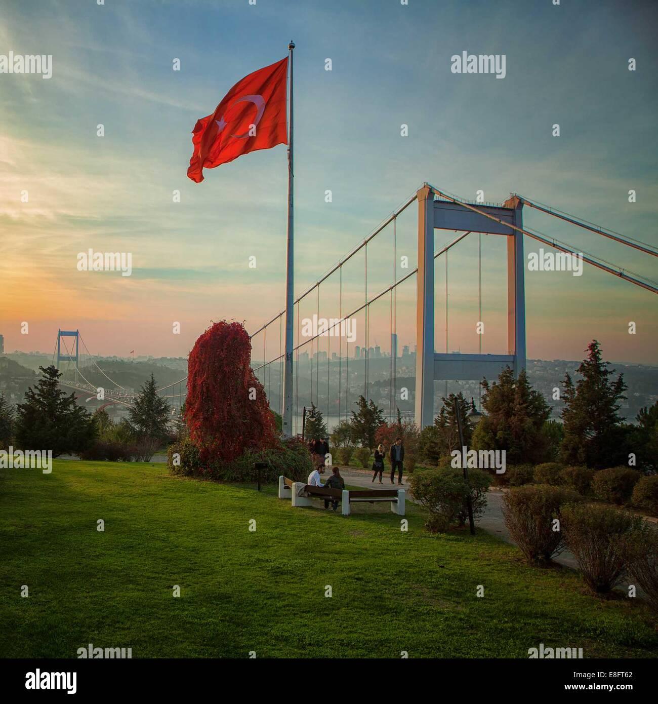 Turchia, Istanbul, Otagtepe Immagini Stock
