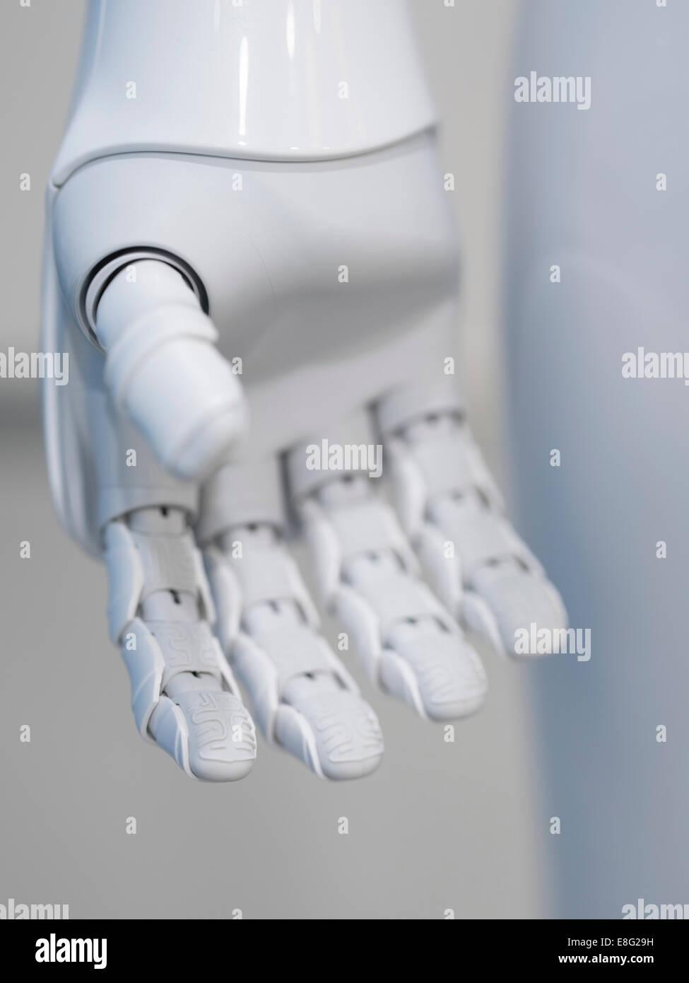 Pepe un robot umanoide da Aldebaran Robotics e SoftBank Mobile. All'Aoyama Softbank Store, Tokyo, Giappone. Immagini Stock