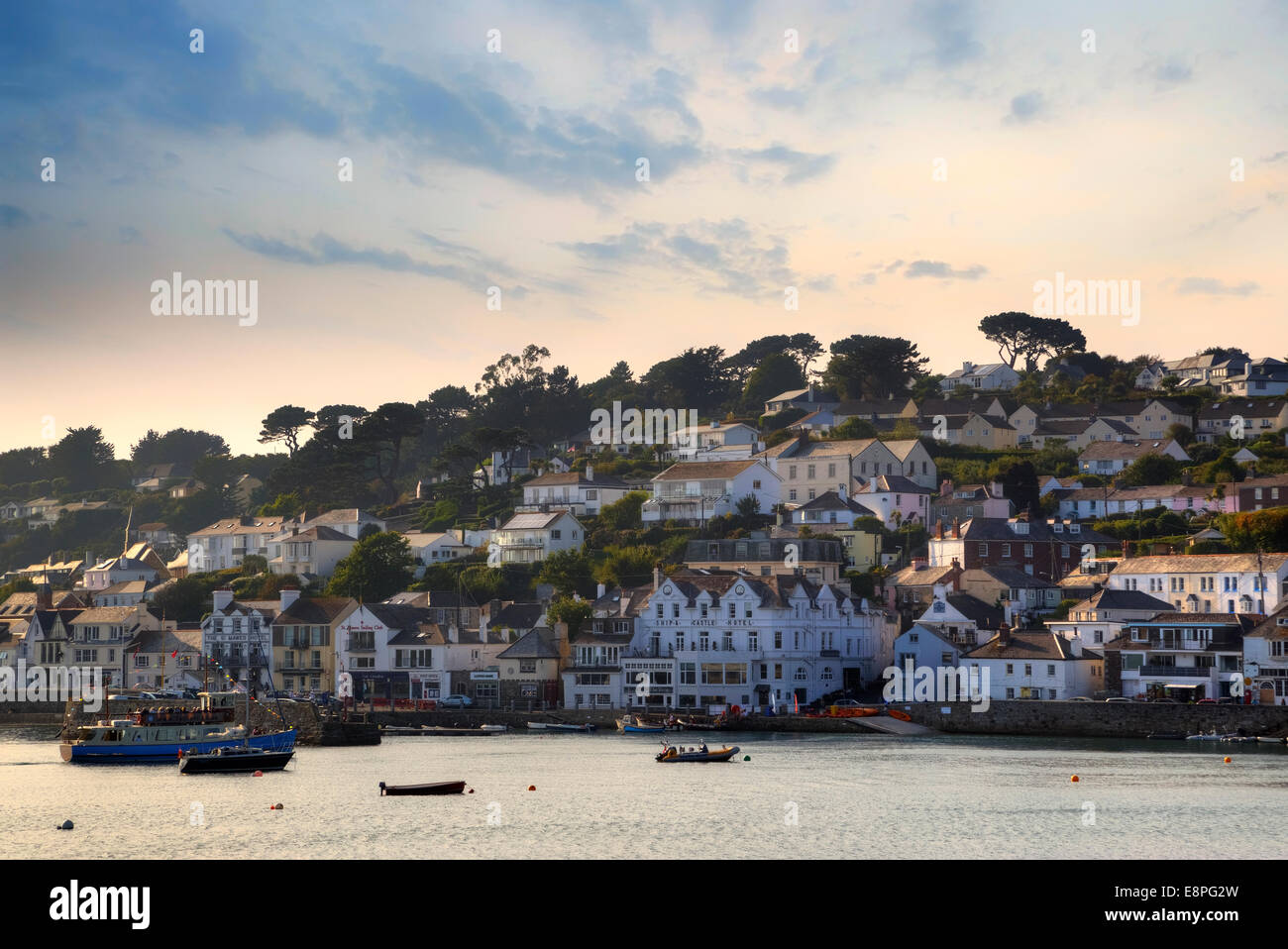 St Mawes, Cornwall, England, Regno Unito Immagini Stock
