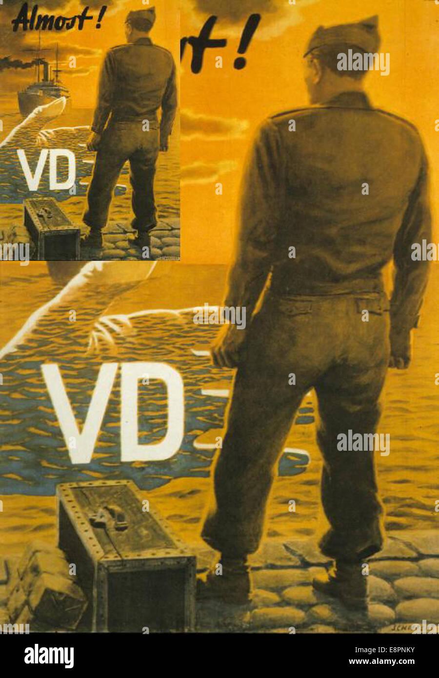Quasi! VD Foto Stock