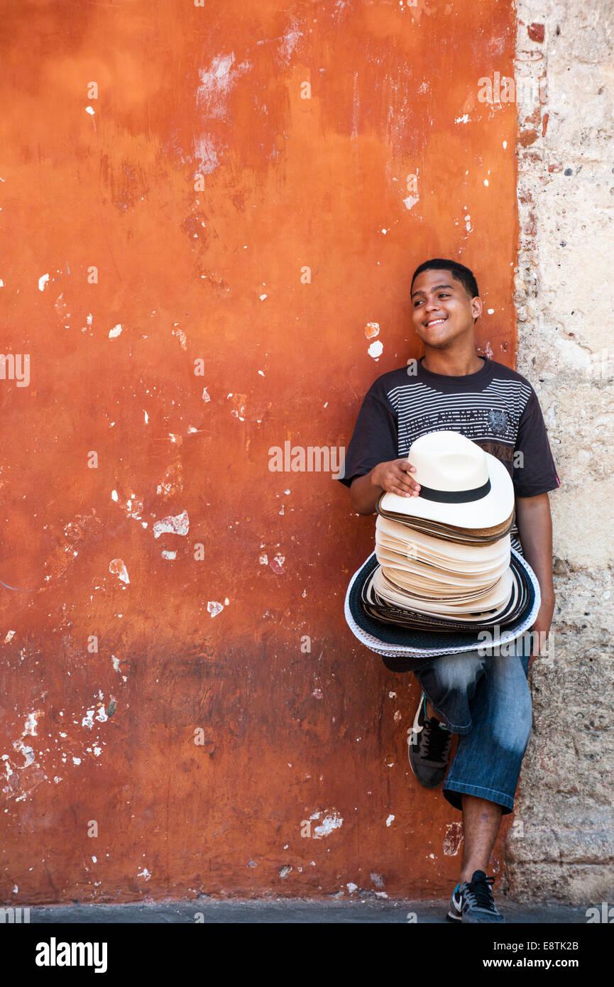 La vita in Cartagena de Indias, Colombia, Sud America Immagini Stock