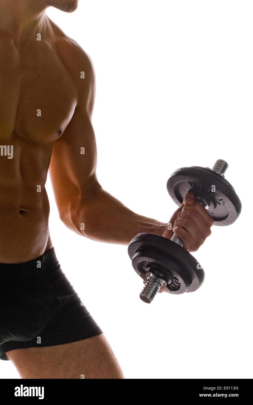 Bodybuilding Immagini Stock