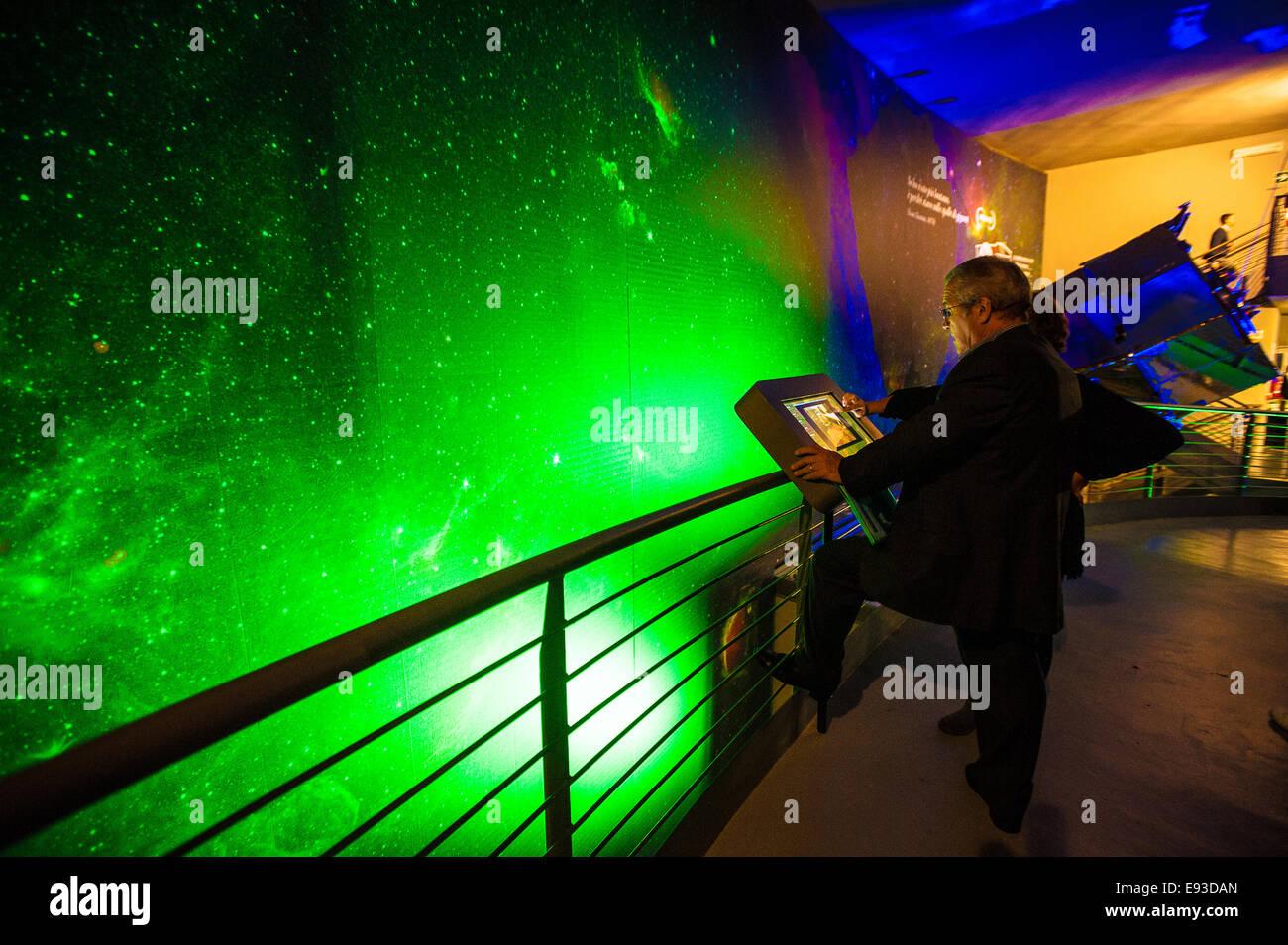 Italia Piemonte Torino Pino Torinese inaugurazione della nuova area del museo di Torino Il Planetarium Museo di Immagini Stock
