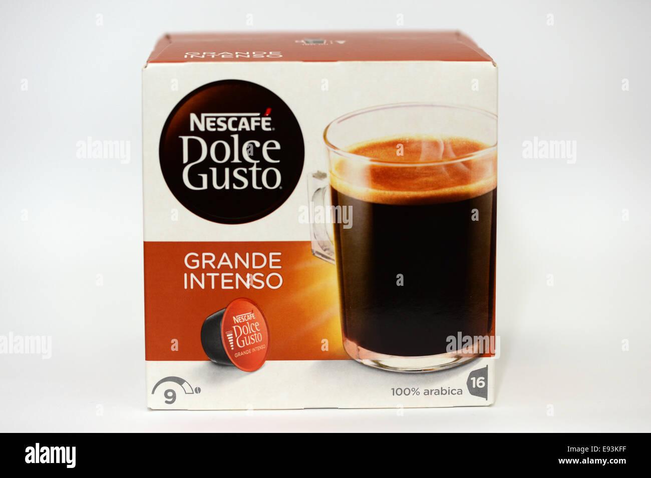 Nescafe Dolce Gusto macchina da caffè a cialde Immagini Stock