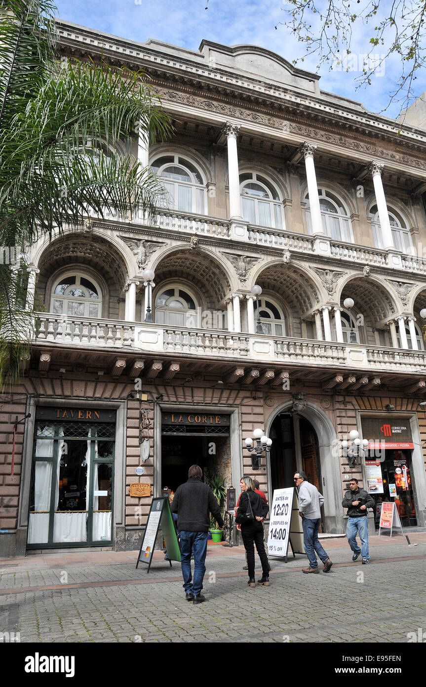 Taverna La Corte Ciudad Veija Montevideo Uruguay Immagini Stock