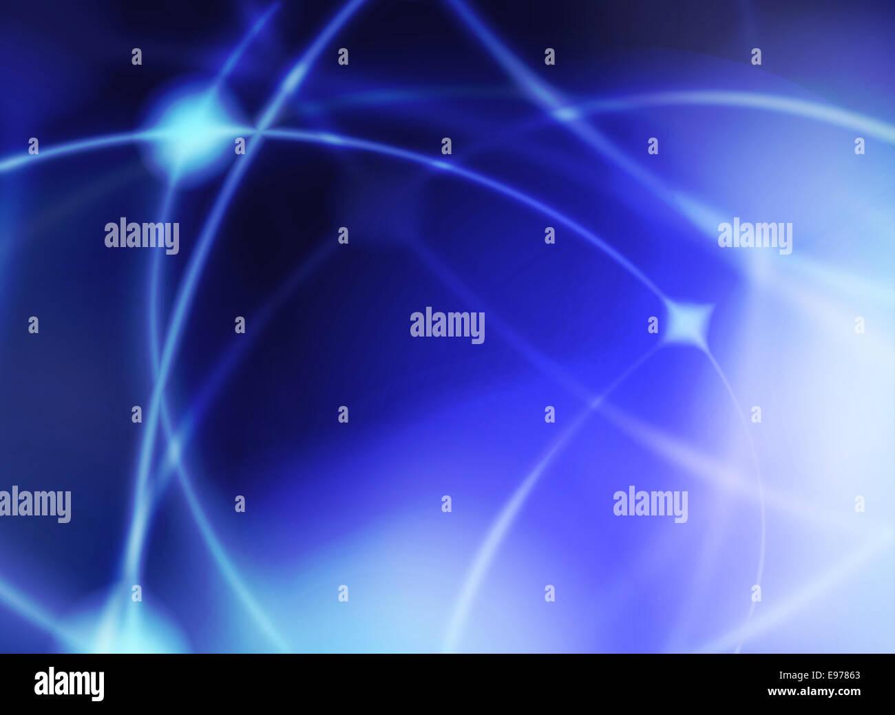 Collegamento cella graphic Immagini Stock