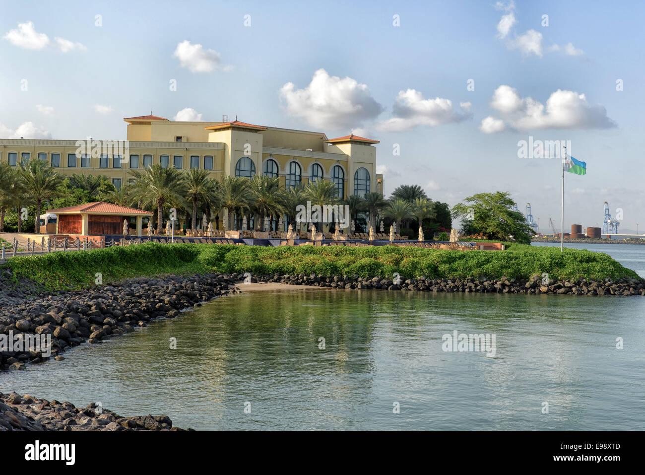 Kempinski Palace nella città di Gibuti, Gibuti Immagini Stock
