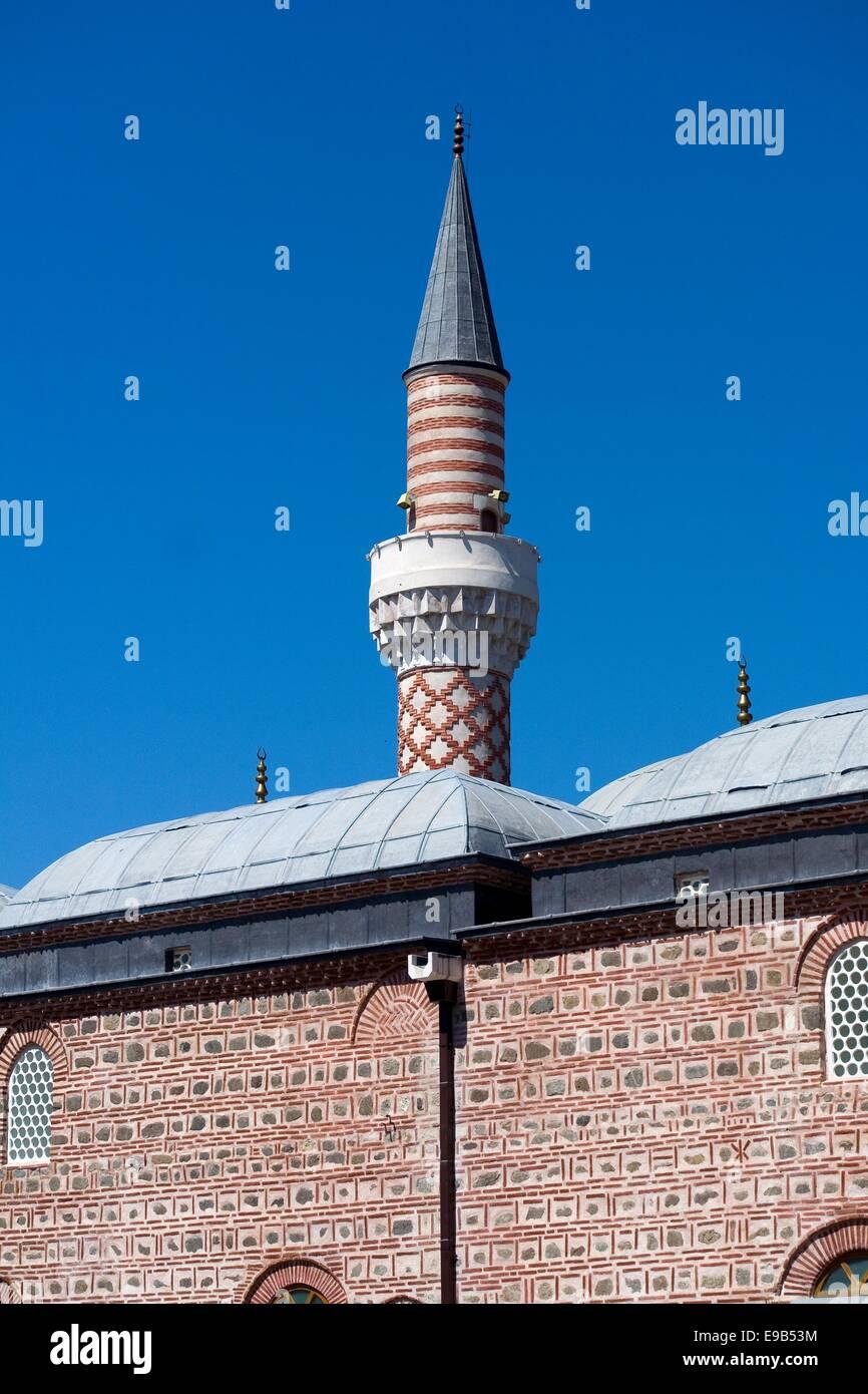 Uli Moschea Dzhumaya, principale moschea del venerdì è il principale tempio musulmano in Plovdiv, Bulgaria Immagini Stock