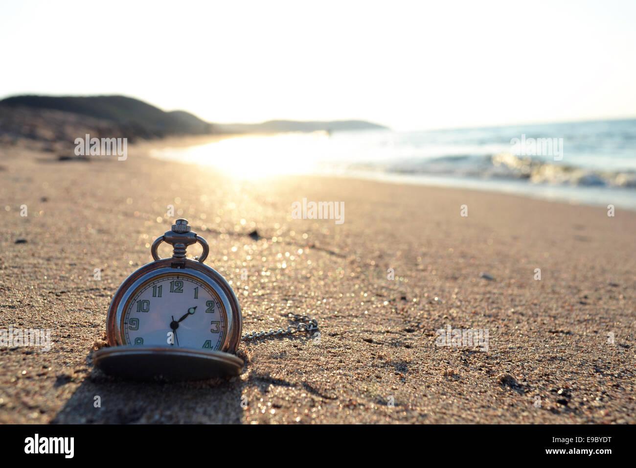 orologio di tempo Immagini Stock