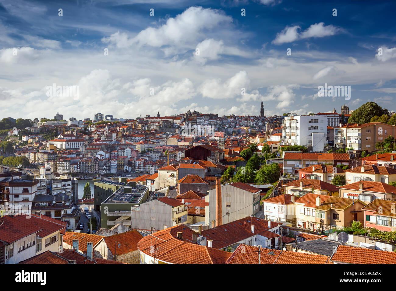 Porto, Portogallo cityscape. Immagini Stock