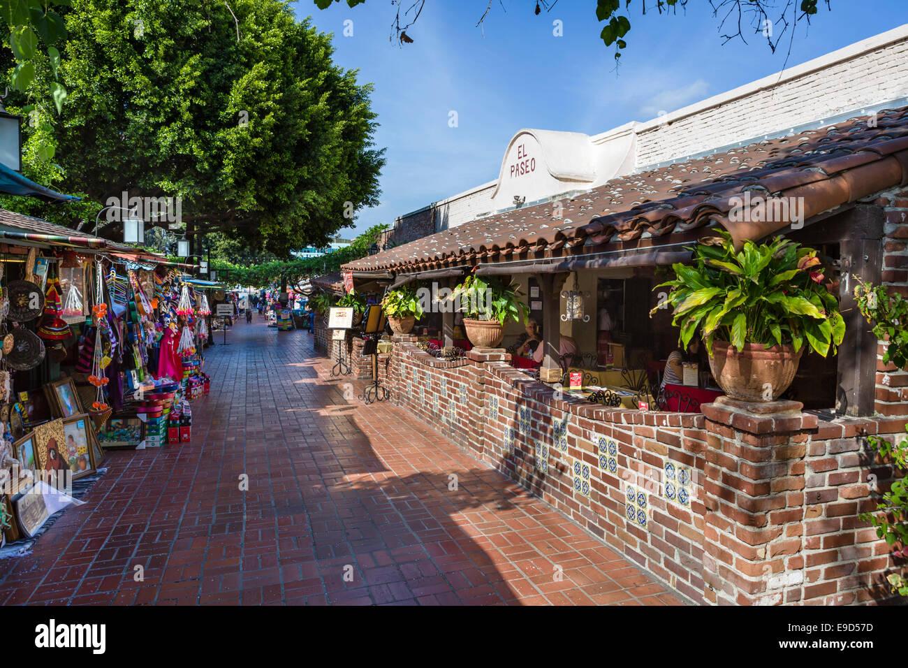 cabine di mercato e el paseo ristorante a olvera street a