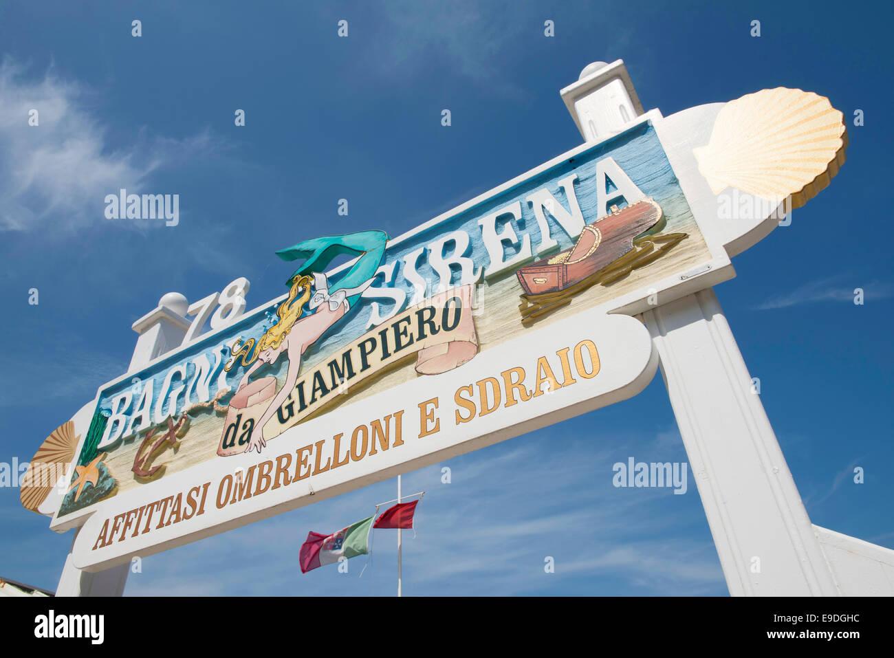 Bagni sirena da giampiero località balneare area balneare