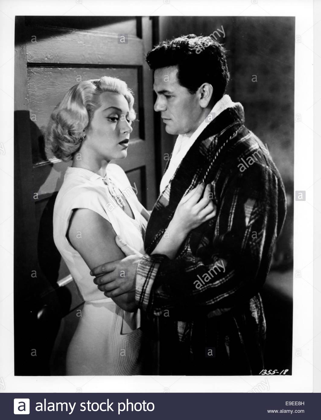 Il postino anelli sempre due volte (1946) - Lana Turner e John Garfield. Immagini Stock