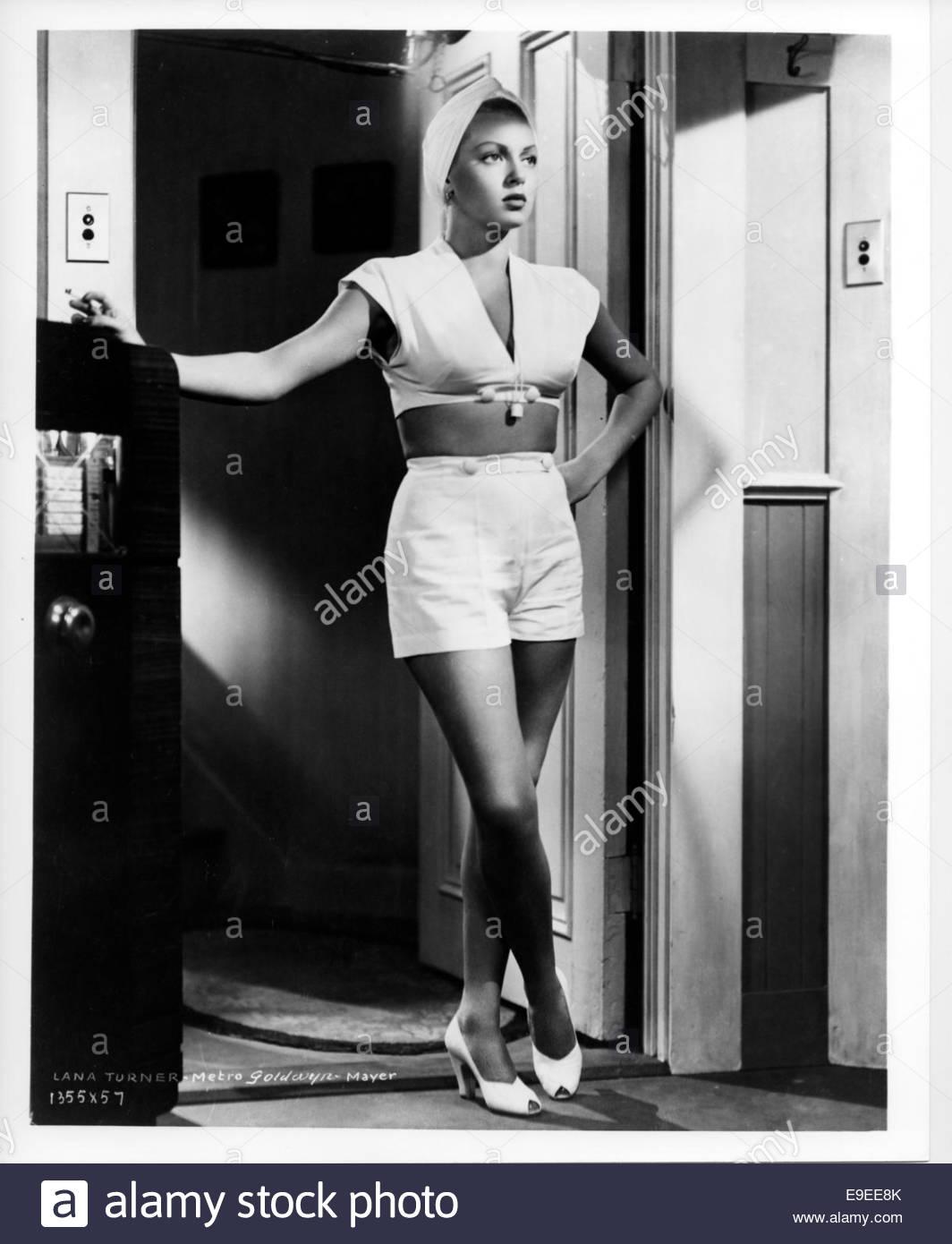 Il postino anelli sempre due volte (1946) - Lana Turner Immagini Stock