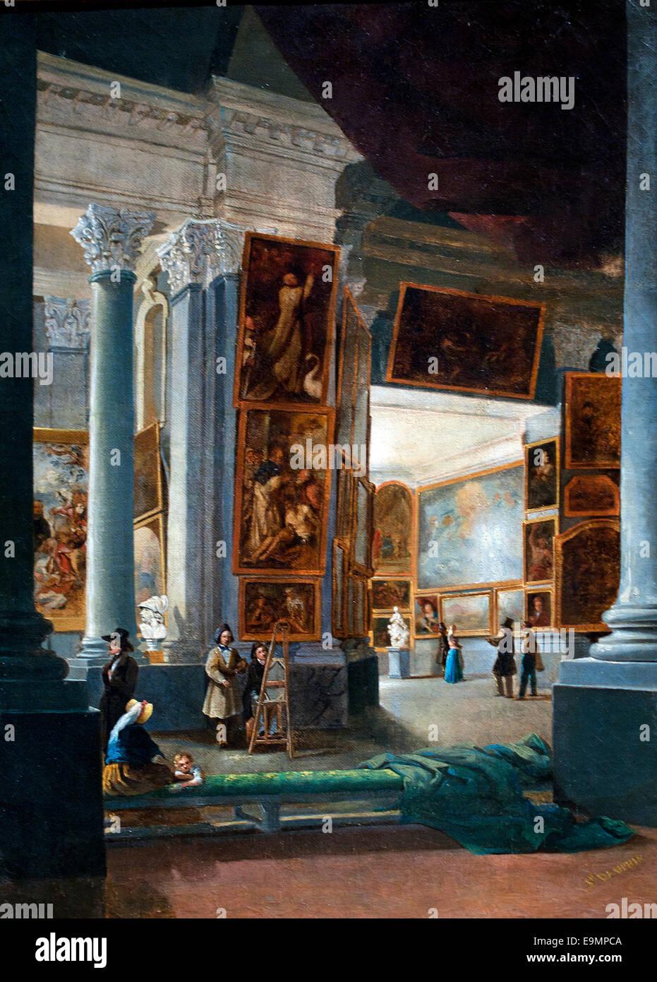 Musee des Beaux Arts Marsiglia - Museo delle Belle Arti a Marsiglia Giuseppe Dauphin 1821-1849 Francia - Francese Immagini Stock