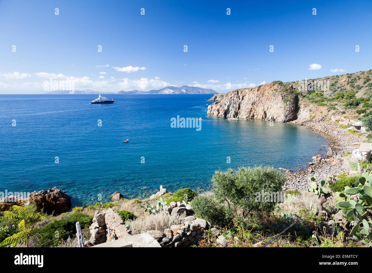 Isole Lipari Immagini Stock