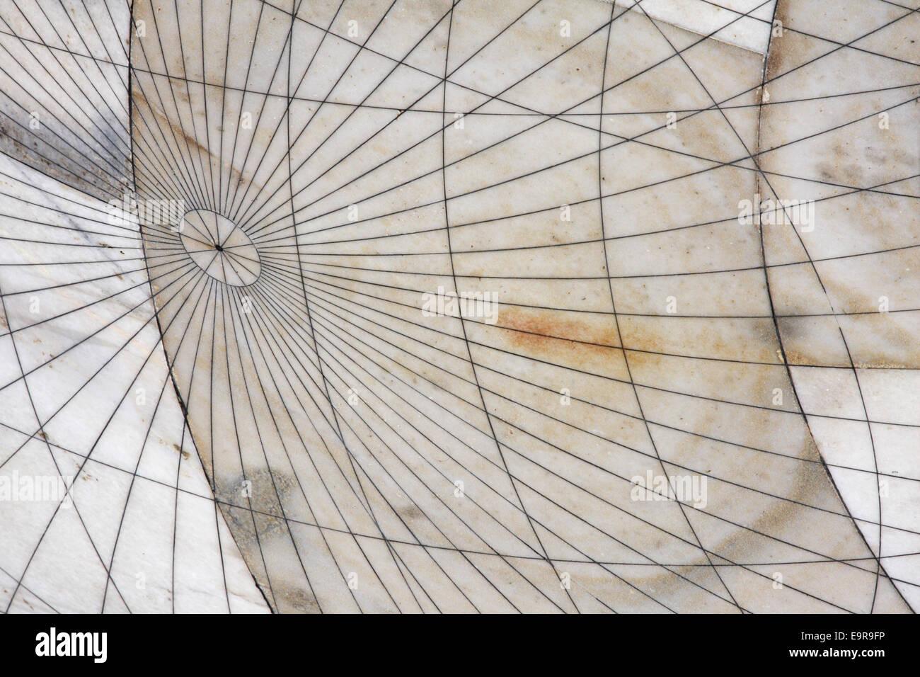Jantar Mantar, osservatorio di Jaipur, Rajasthan. India Immagini Stock