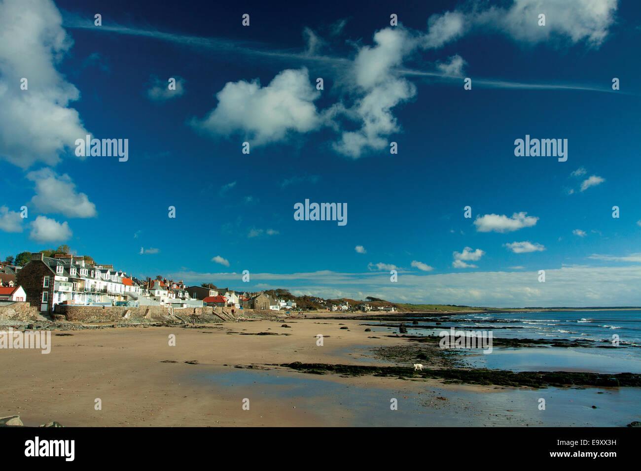 Lower Largo beach, la East Neuk di Fife, Fife Immagini Stock
