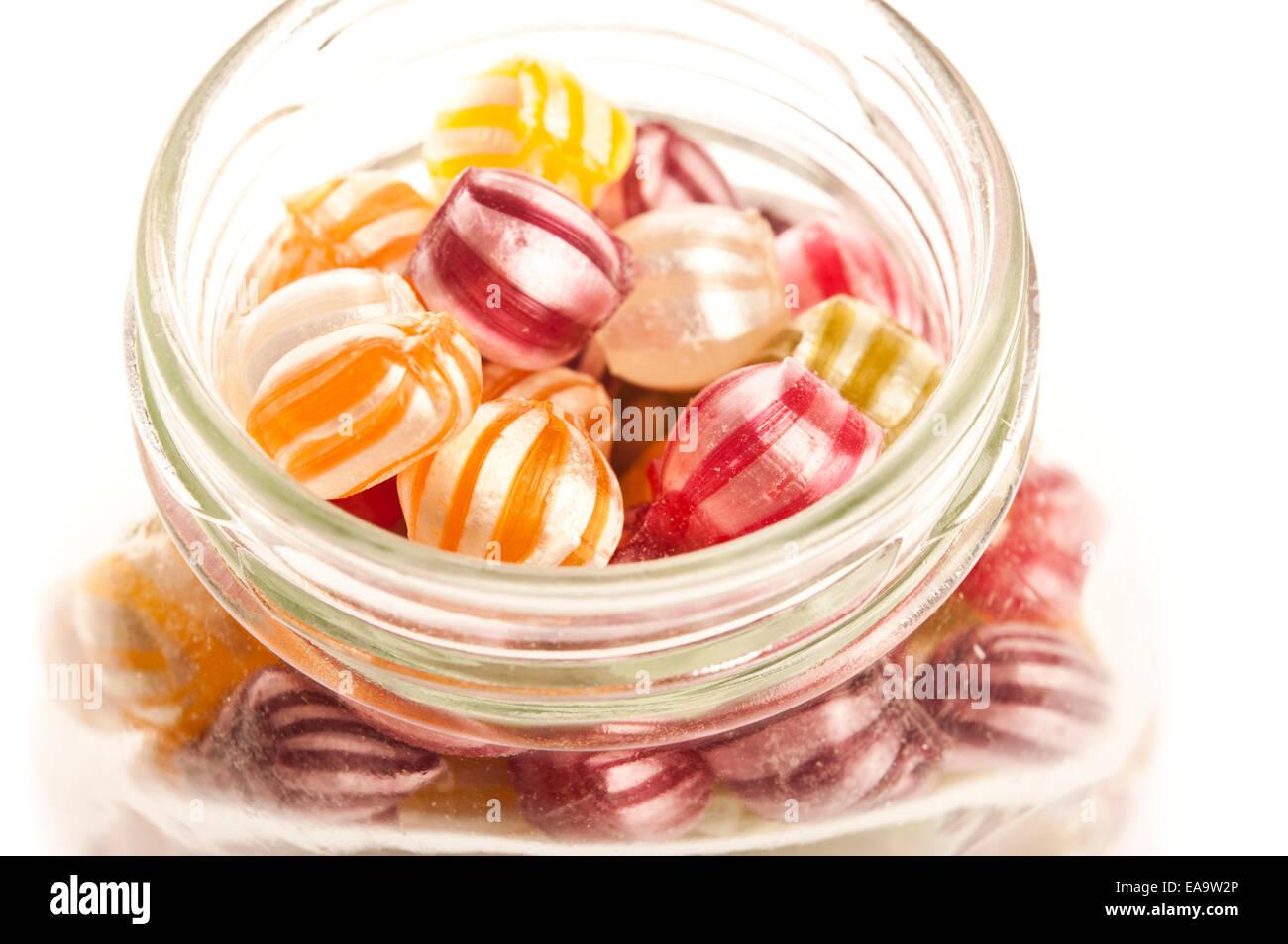 Vaso di frutti canditi Sig.ra Ponti Immagini Stock