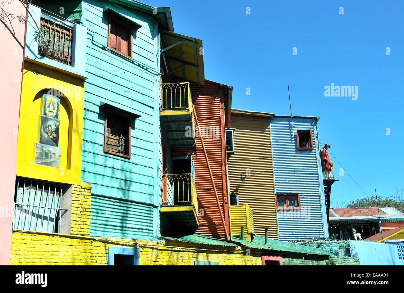 La Boca Buenos Aires Argentina Immagini Stock