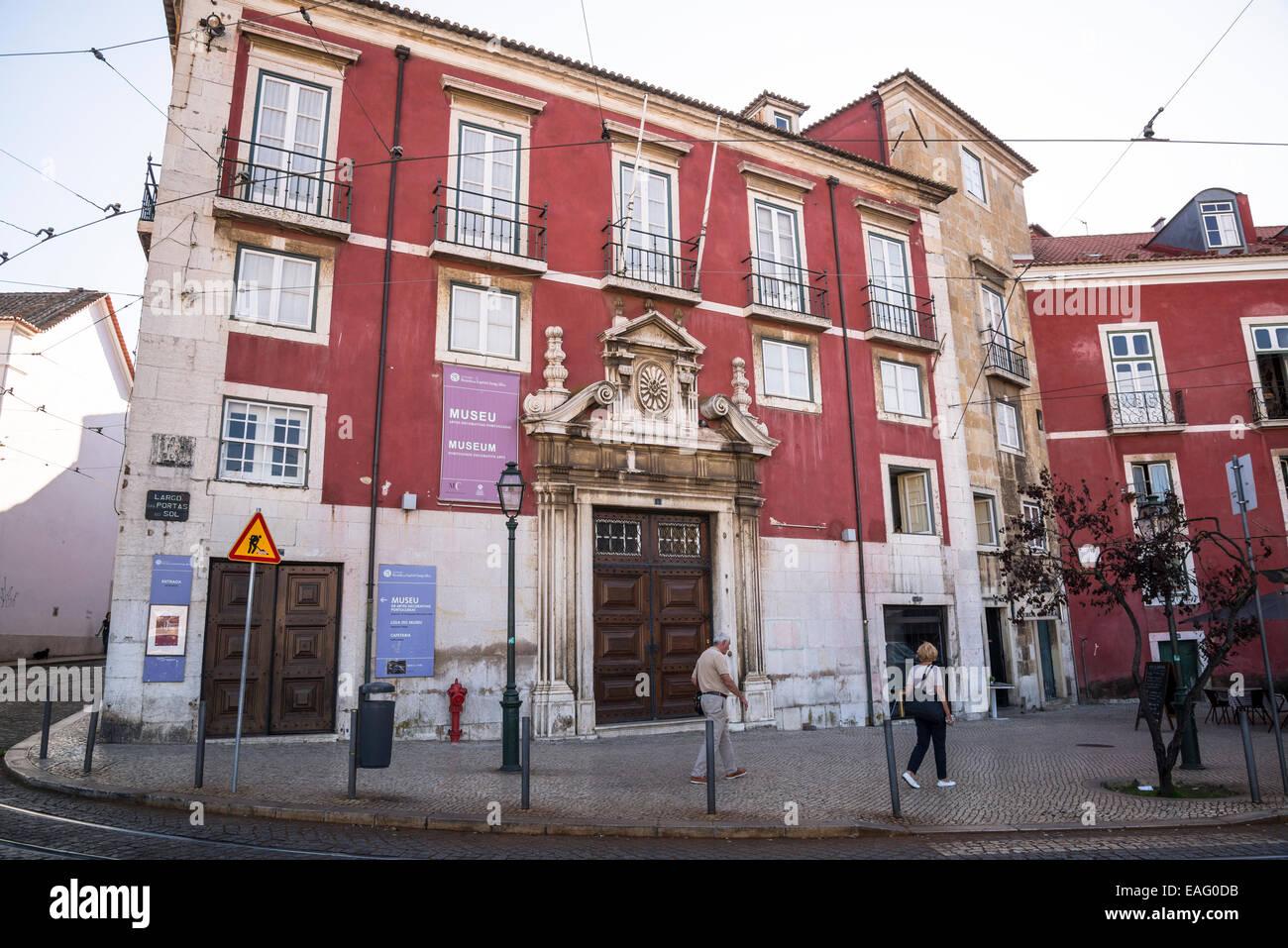 Museo di portoghese di Arti Decorative, Largo das Portas do Sol, Alfama, Lisbona, Portogallo Immagini Stock