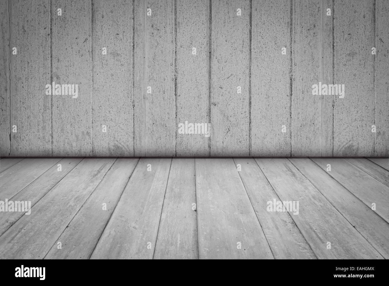 Prospettiva di legno sfondo per la sala interna con vignette foto