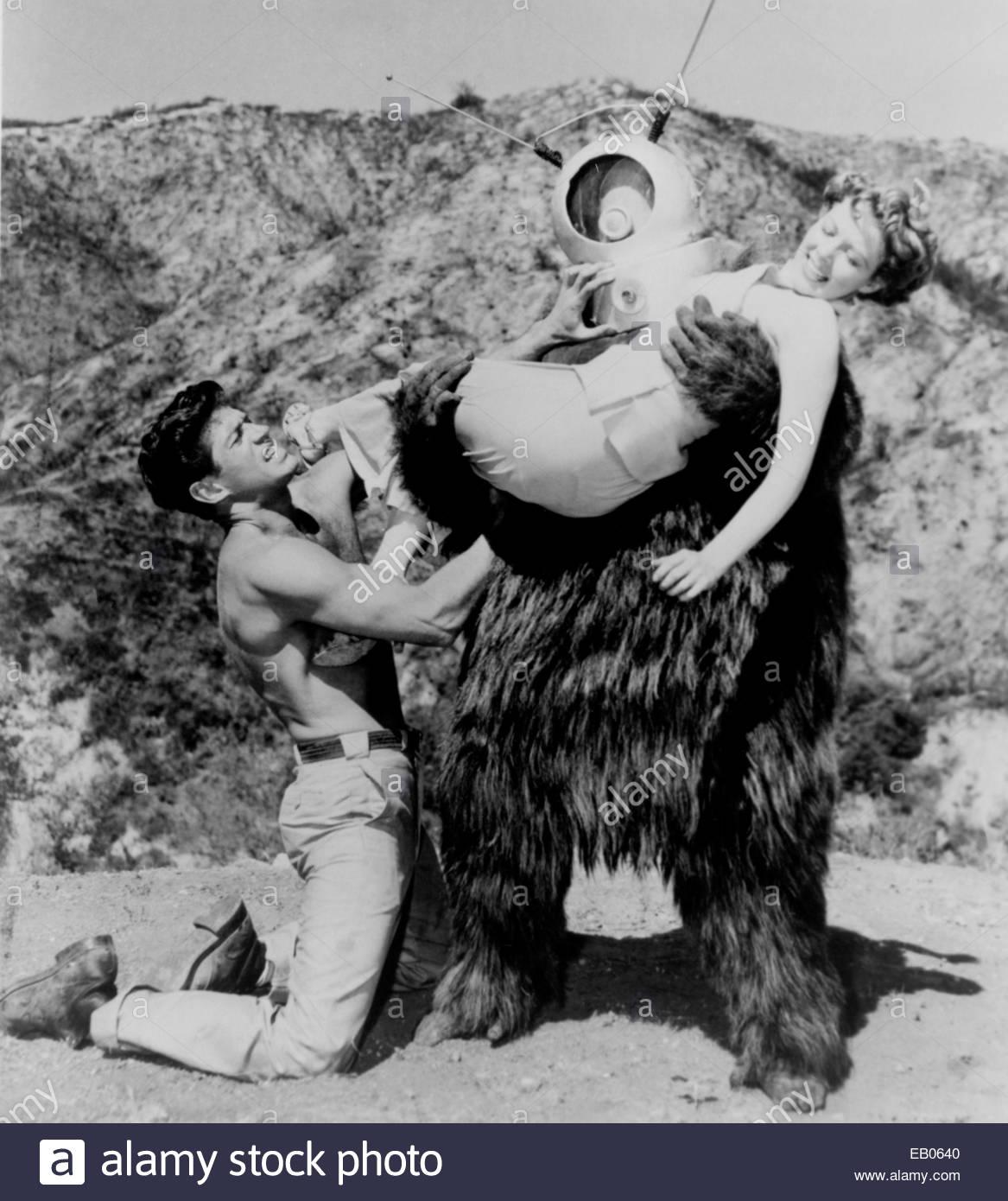 ROBOT MONSTER (1953) - ancora dal basso bilancio 1953 film di fantascienza. Foto Stock