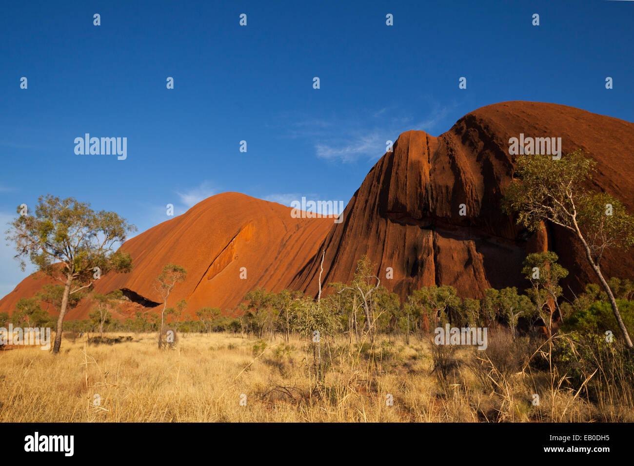 Uluru Kata Tjuta National Park di Territorio del Nord Australia Immagini Stock