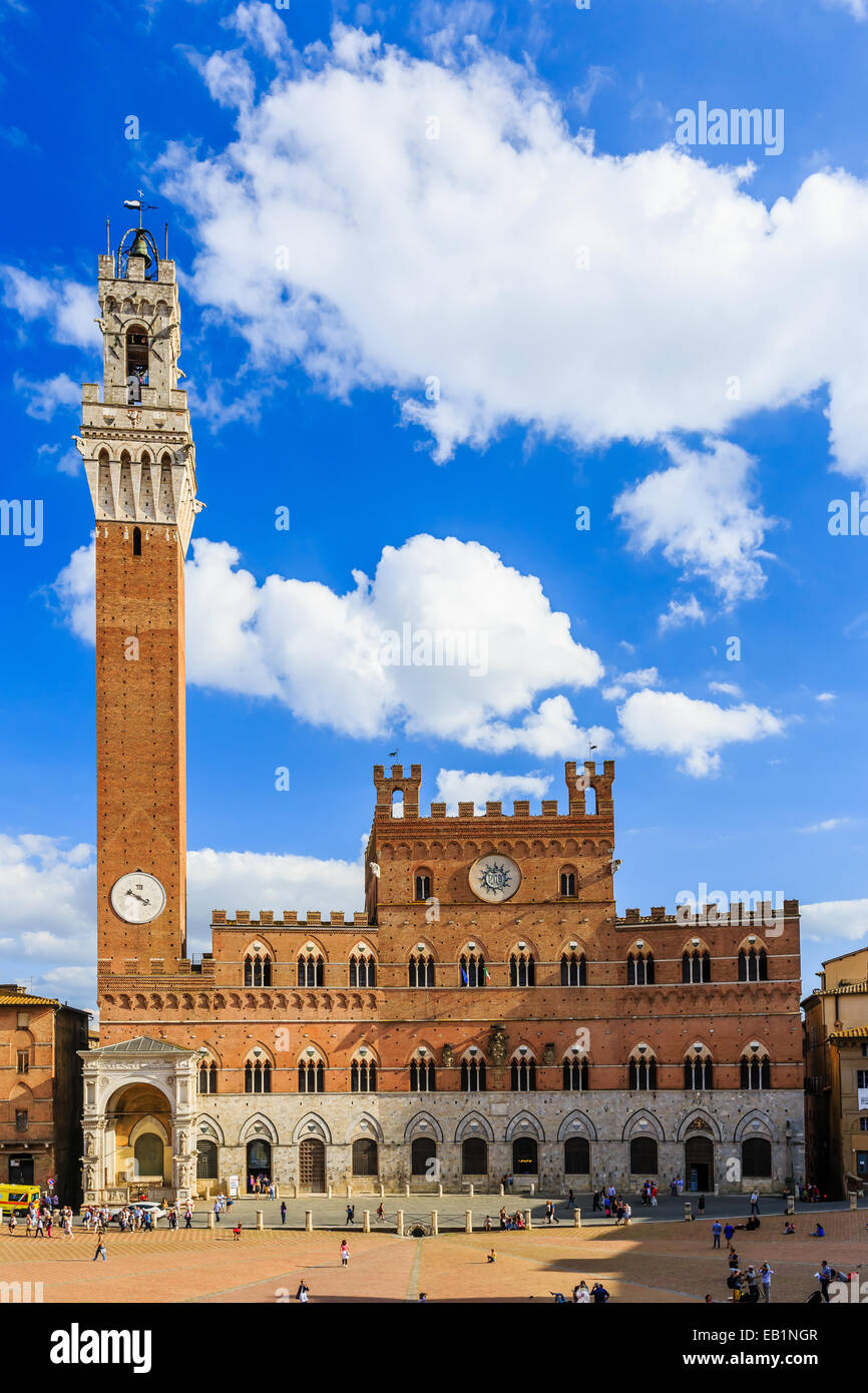 Siena, Italia Immagini Stock