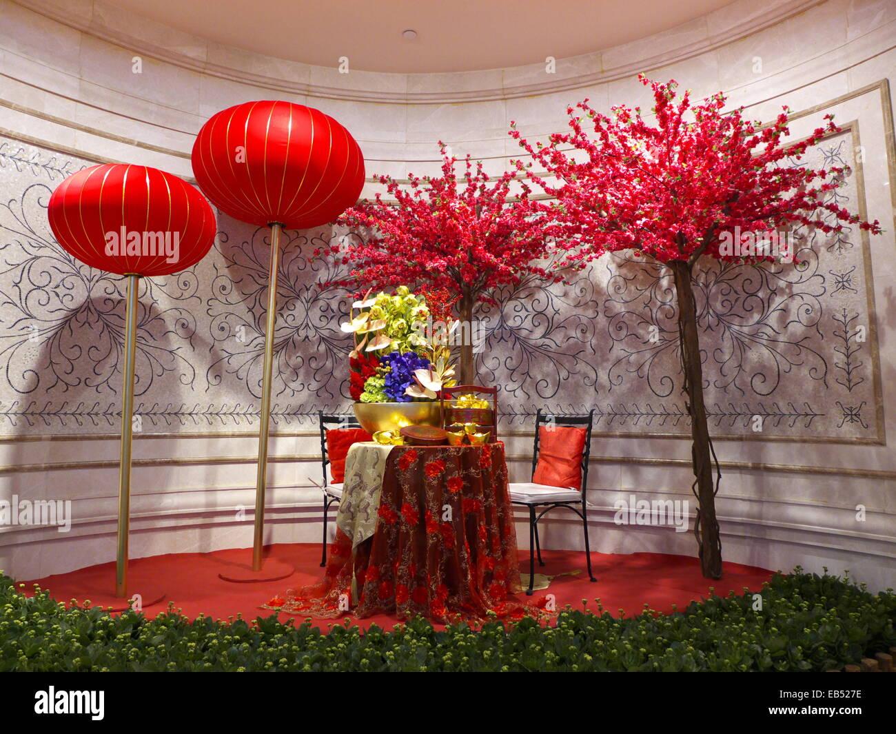 Cina nuovo anno lunare cinese decorazione Immagini Stock