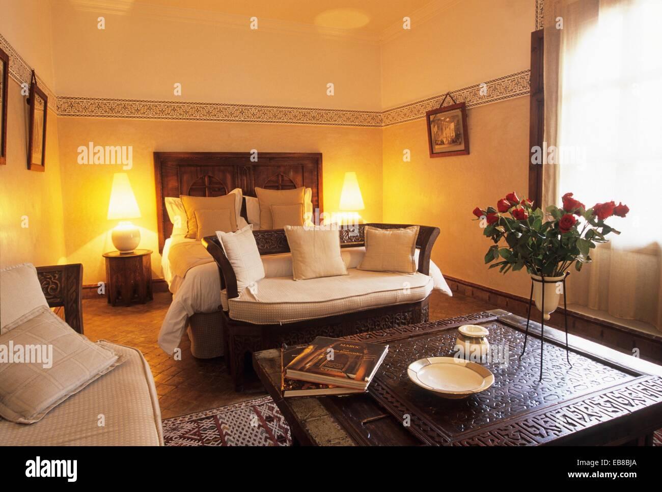 Camere Da Letto Marocco : Camera da letto di lusso hotel villa des orangers marrakech