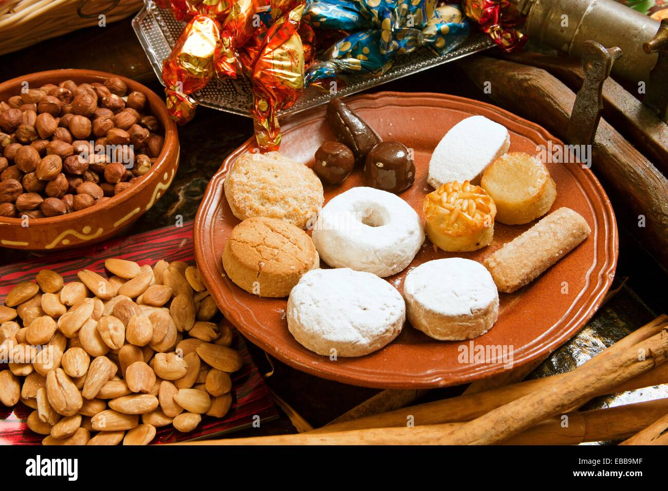 Dolci Di Natale Spagnoli.Tradizionale Spagnolo Dolci Di Natale Roscos Mantecados