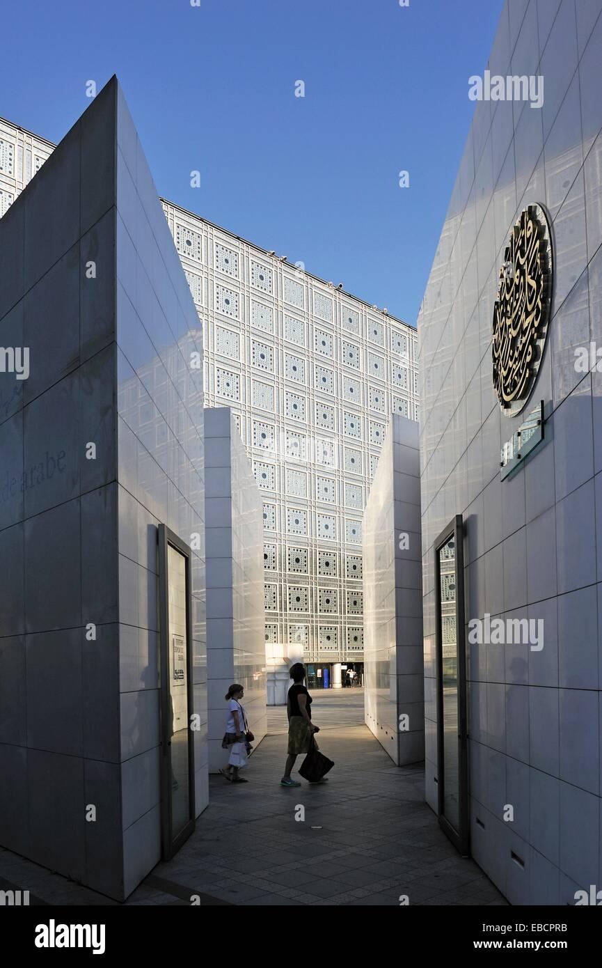 L Istituto Del Mondo Arabo Progettato Da Jean Nouvel E Architecture