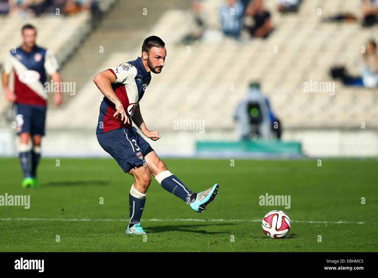 Diego contento - 30.11.2014 - Bordeaux/Lille - 15eme journee de Ligue 1 Photo : Manuel Blondau/Icona Sport Immagini Stock
